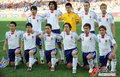 图文:荷兰VS日本 日本队合影