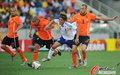 图文:荷兰VS日本 德容奋力回追