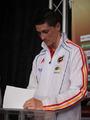 组图:西班牙新闻发布会 托雷斯赛前写下心愿