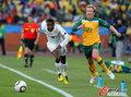 图文:加纳VS澳大利亚 潘特希尔前进