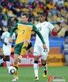 图文:加纳1-1澳大利亚 埃默顿淡定拿球