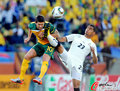 图文:加纳1-1澳大利亚 博阿滕脚踹科威尔