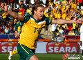 图文:加纳1-1澳大利亚 霍尔曼立功了