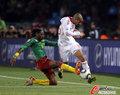 图文:喀麦隆1-2丹麦 宋飞铲对手