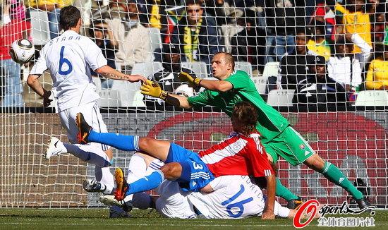 半场快评:巴拉圭惊人效率阿根廷亦不及