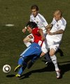 图文:斯洛伐克VS巴拉圭 双管齐下
