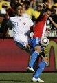 图文:斯洛伐克VS巴拉圭 卡位