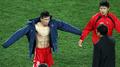 世界杯球星赤膊秀肌肉