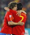 图文:西班牙2-0洪都拉斯 比利亚与普约尔