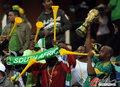 图文:韩国VS尼日利亚 球迷激情助威(10)