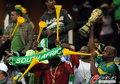 图文:韩国VS尼日利亚 球迷激情助威(15)