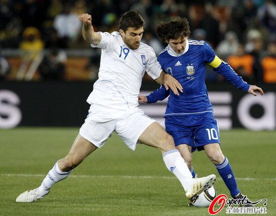 半场快评:希腊找准阿根廷命门 成功盯死梅西
