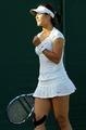 组图:李娜气势如虹击败对手 杀进温网第二轮