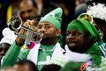 图文:韩国VS尼日利亚 球迷激情助威(21)
