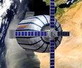 高清:美富豪建太空站旅馆 月租2500万美元