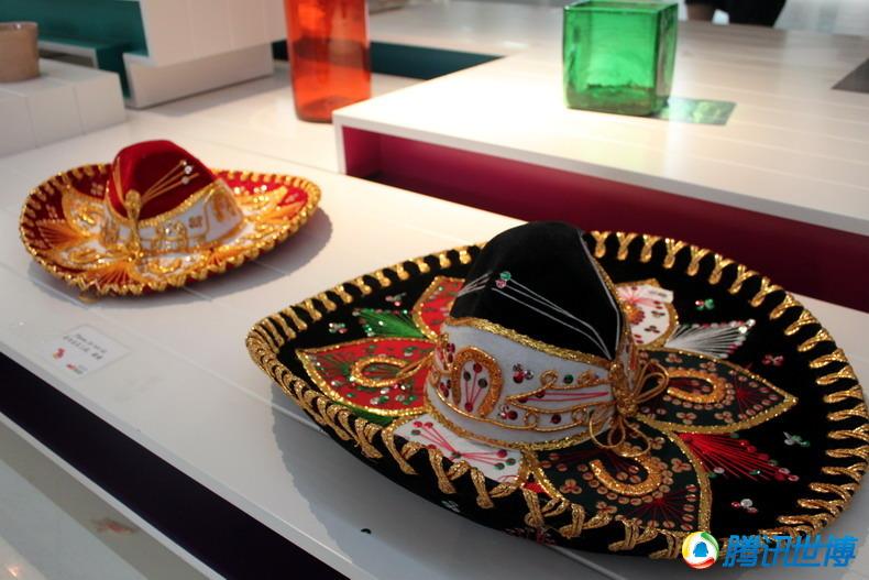 帽子:戴上墨西哥的手工艺图片领略异域风情毛表情包掉高清图片