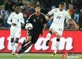 图文:加纳VS德国 赫迪拉突破