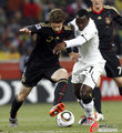 图文:加纳0-1德国 弗里德里希突破