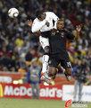 图文:加纳0-1德国 卡考无所作为