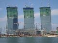 高清:新加坡打造新地标 顶层巨大空中花园