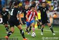 图文:巴拉圭0-0新西兰 巴尔德斯势不可挡