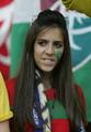 高清:葡萄牙美女柔情似水 巴西球迷性感狂野