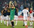 图文:智利1-2西班牙 西班牙胜利退场