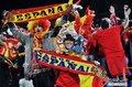 图文:智利1-2西班牙 兴奋的西班牙球迷