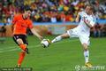 图文:荷兰2-1斯洛伐克 范博梅尔下底传中