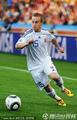 图文:荷兰2-1斯洛伐克 带球急速进攻