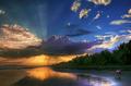 组图:绝妙美图——相机眼里的日出日落