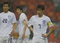 韩国队(B组第二)队长:朴智星