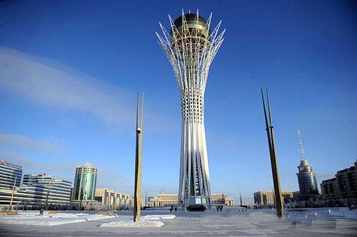 欣赏美丽的哈萨克斯坦首都图片