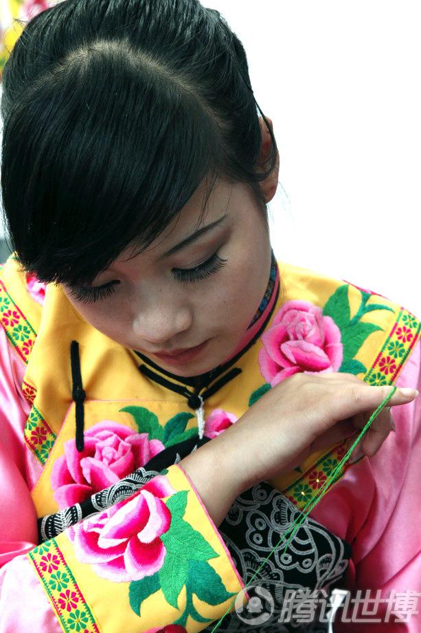 宝钢:北川舞台尔玛姐美女大美女秀羌族明星所有茶艺的高清图片