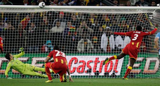 特评:只有横梁才能阻挡加纳 此刻天佑乌拉圭