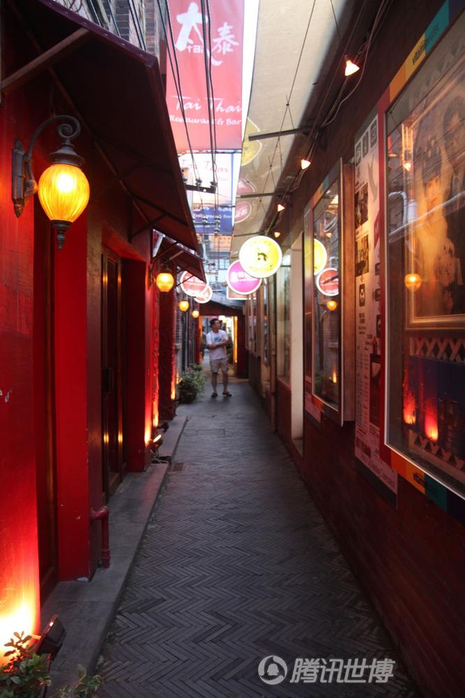 小巷子里的上海情调