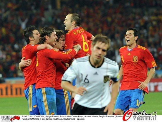 特评:德国队打错算盘 西班牙本该进更多球