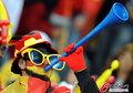 图文:西班牙VS德国 球迷激情助威(21)
