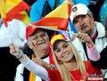 西班牙VS德国球迷激情