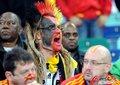 图文:西班牙VS德国 球迷激情助威(72)