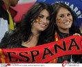 图文:西班牙VS德国 球迷激情助威(86)
