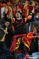 图文:西班牙VS德国 球迷激情助威(40)