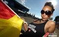 图文:德国负西班牙 国内球迷激情助威(6)