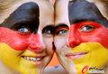 图文:德国负西班牙 国内球迷激情助威(9)