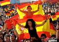 图文:德国负西班牙 国内球迷激情助威(14)