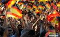 图文:德国负西班牙 国内球迷激情助威(17)
