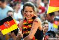 图文:德国负西班牙 国内球迷激情助威(19)