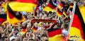 图文:德国负西班牙 国内球迷激情助威(25)