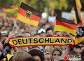 图文:德国负西班牙 国内球迷激情助威(41)