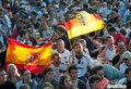 图文:德国负西班牙 国内球迷激情助威(56)